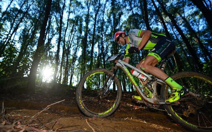 Philip Buys at the National MTB Series