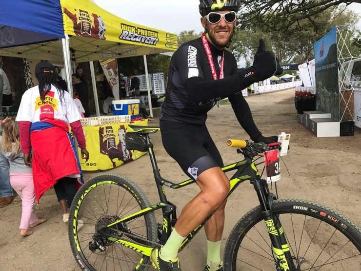 Steven Shirley won the Trans Elands MTB Marathon.