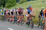 The peloton during Tour de Suisse.