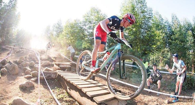 Alan Hatherly in action at the UCI MTB World Cup