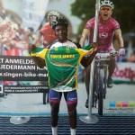 National rider Sithembiso Masango