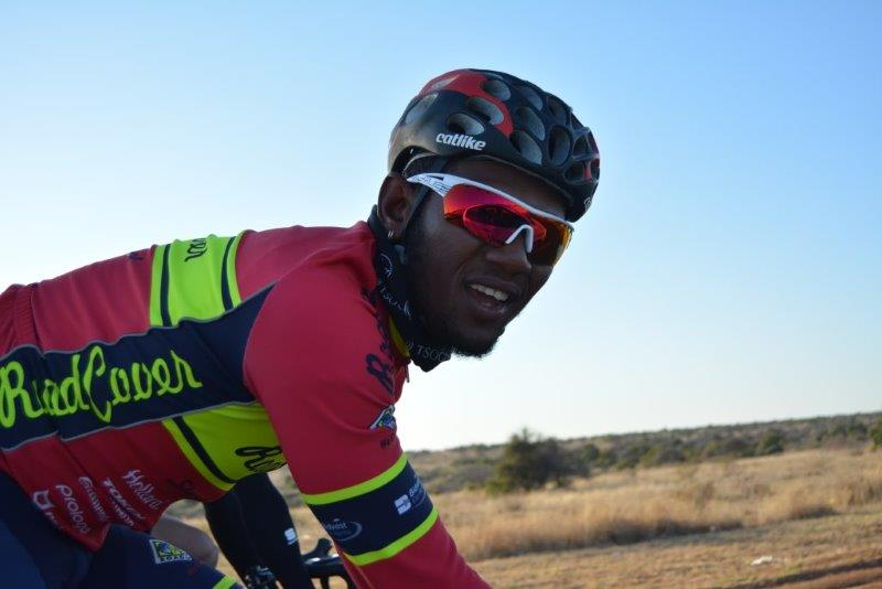 Clint Hendricks in action during the 2017 Cycle4Cansa Championship.