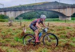 A mountain biker in action during a previous year's Baleia Wines MTB Challenge.