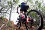 A mountain biker tackles a climb during last year's Mathaithai MTB Race.