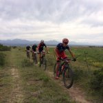 Stage one leaders in action at the Cape Pioneer Trek