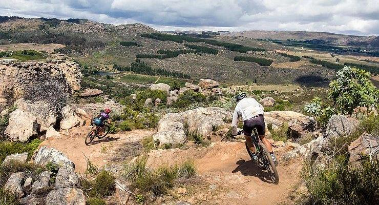 THe U MTB Stage Race action on the Piket-Bo-Berg trails