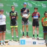 Tshwane Classic women's podium