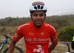 Shamaag Sali won the 80km men's road race at the Langebaan Country Estate Cycle Challenge in Langebaan, Western Cape, today.