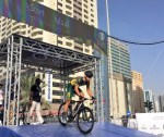 Ryan Harris fastest South African at Sharjah Tour