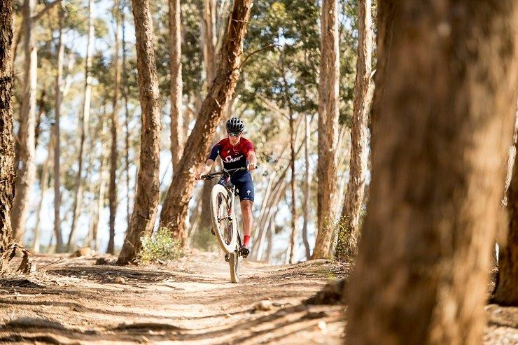 """Alan Hatherly sees his success in the SA MTB Cup XCO Series opener as the first stepping-stone towards """"fine-tuning"""" his form. Photo: Team Spur"""
