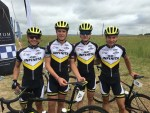 Team Infinita for the 2018 season from left Damion Gomez, Ryan Terry, Emile Fourie and Kimhan Kleynsheldt. Photo: Supplied