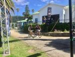 ASG-Ellsworth's HB Kruger and Stuart Marais won the first 71km stage of the Transcape MTB Encounter today. Photo: twitter.com/TranscapeMTB