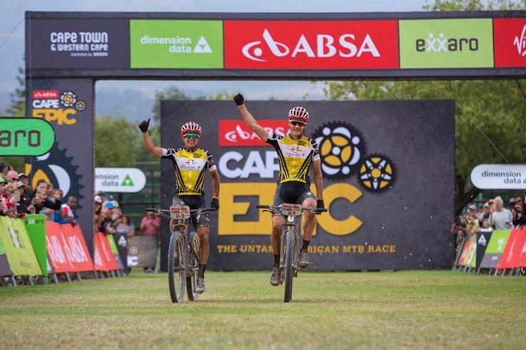 Howard Grotts, Jaroslav Khulhavy win Cape Epic stage six