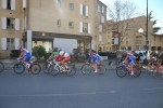 The peloton in action during stage five of the Paris-Nice race