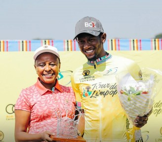 Team BCX's Clint Hendricks claimed the yellow jersey after stage one of Tour de Limpopo
