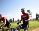 Rider enjoying the course during the third stage of the Cradle Traverse yesterday. Photo: Sage Lee Voges/ZC Marketing Consulting