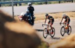 Marc Pritzen and Steven van Heerden during stage four of Tour de Limpopo