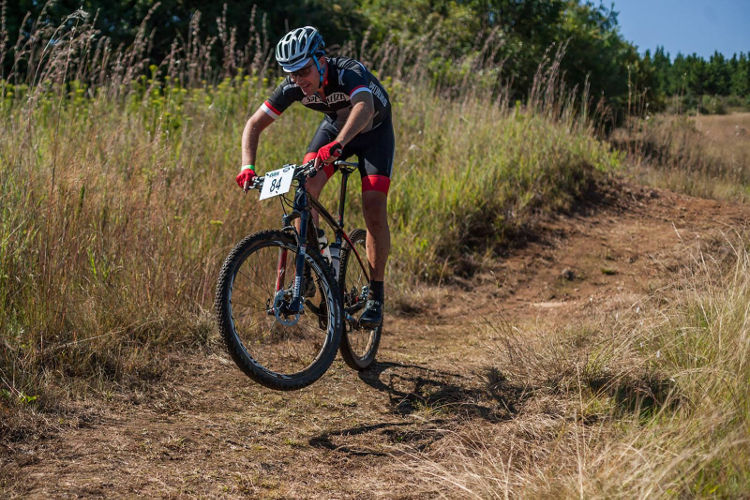 A Sabie Xperience rider during stage one of the event.