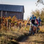 Men's team race stage one Gravel & Grape Extreme 3-day