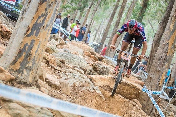 Jarrod van den Heever will compete in the under-23 race at the UCI Mountain Bike World Cup