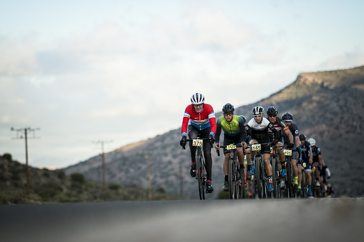 Riders in action during the Swartberg 100 Gran Fondo last month. Photo: Jacques Marais