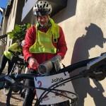 John Loos is leadingThe1000 Miler
