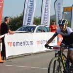 Yolande de Villiers, pictured here during last year's Knysna Cycle Tour