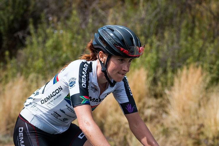Carla Oberholzer aims to add the Bestmed Jock Classic title to her Jock Tour palmarès