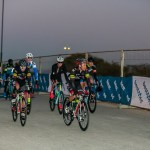The men riders jetting off in the early morning at the Jock Classic. Photo: Memories 4 U Photography