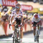 Tour de France: Alaphilippe wins stage in polka-dot jersey
