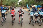 Hennie van Wyk won the overall junior title of the Swadini Youth Festival, with Given Mthembu winning the criterium. Photo: Twitter/@SwadiniForever