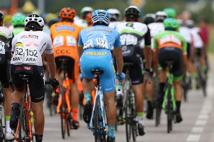 Bahrain–Merida's Giovanni Visconti won the 181.5km second stage of the Tour of Austria today. Photo: Photo credits