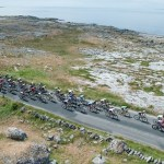 The peloton in action during stage four of the Tour of Ireland
