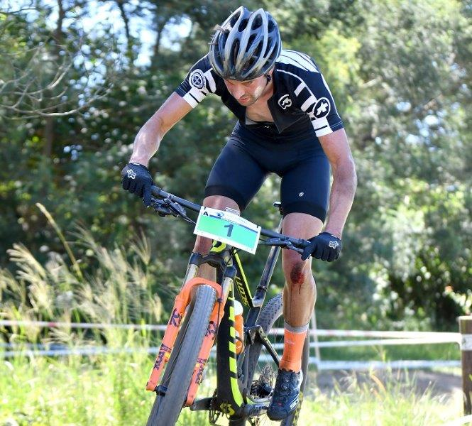Stuart Marais will be hoping to get the Mandela Day MTB Dash monkey off his back when he takes part in the 42.2km race tomorrow. Photo: Gavin Ryan/Quikpix