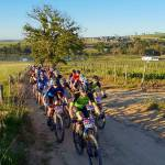Mountain bikers in action during the 4GOOD MTB Challenge