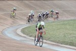 Riders moving around the bend of the track at the Joburg Grand Prix. Photo: Cycle Nation