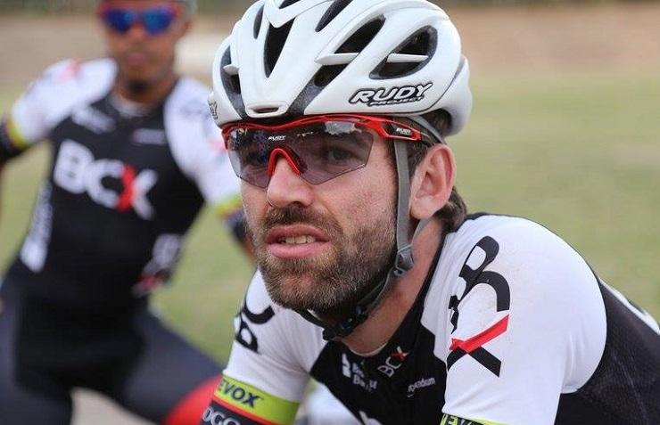 A still shot of Steven van Heerden at the Joburg Grand Prix. Photo: Cycle Nation