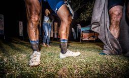 The Munga day three dirty legs of riders