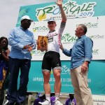 Germany's André Greipel, won stage six of the Tropicale Amissa Bongo