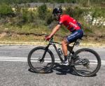 HB Kruger pictured cycling on the road in his Alfa Bodyworks attire. Photo: Supplied