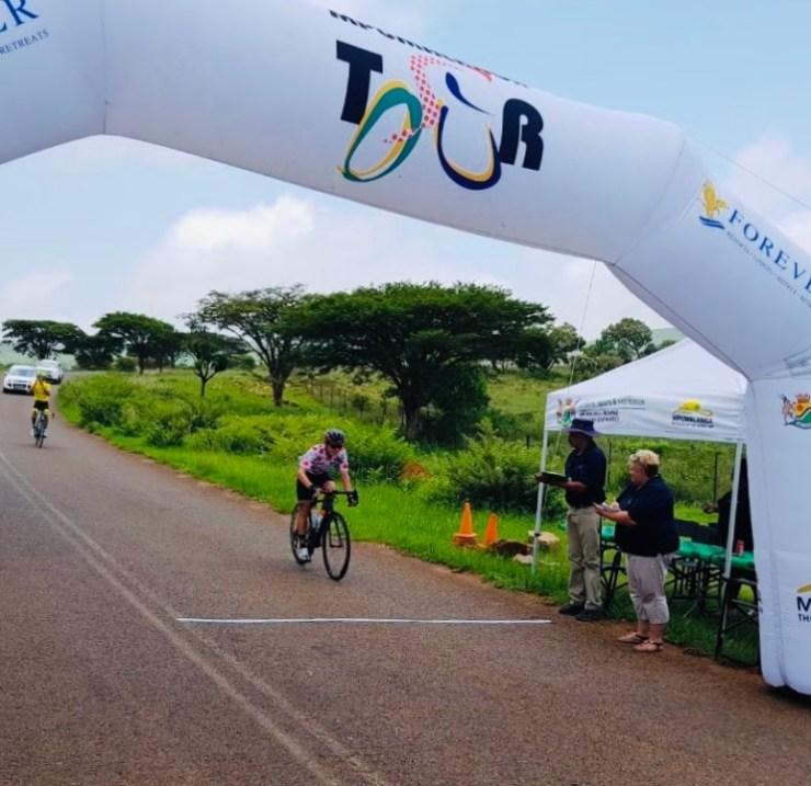 OfficeGuru's Travis Barrett took his first elite/U23 victory in stage three of the Mpumalanga Tour