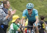Astana Pro's Jakob Fuglsang, pictured here at the Tour de France last year, claimed the Vuelta a Andalucia Ruta Ciclista Del Sol title yesterday. Photo: Photo credits