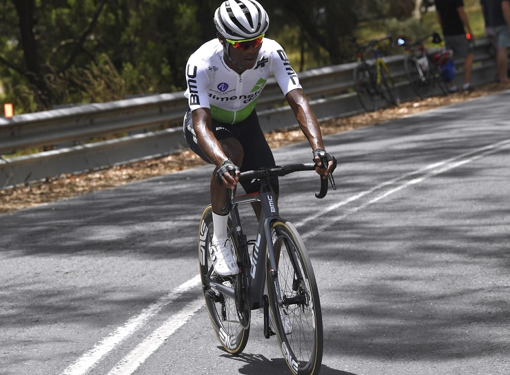 South African Nicholas Dlamini is looking to build on his successes as a renowned climber. Photo: Getty Images