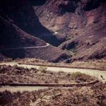 A lone rider during the Swartberg100