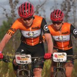 Investec-songo-Specialized's Annika Langvad and Anna van der Breggen extended their overall lead once again after winning the 107km third stage of the Cape Epic today. Photo: Shaun Roy/Cape Epic