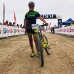 Candice Lill claimed her debut win at the Cape Town Cycle Tour MTB Challenge