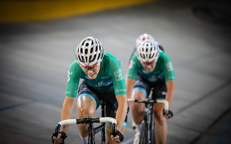 Maroesjka Matthee won the elite women's points race on day two of the SA National Track Championships