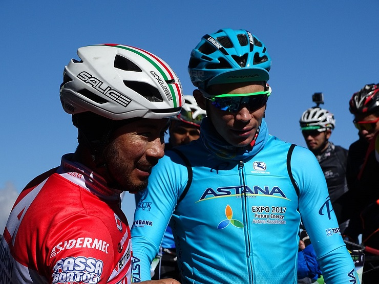 Miguel Ángel López won stage four of the Volta a Catalunya