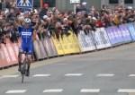 Deceuninck–Quick-Step's Zdeněk Štybar soloed to victory in the 200km Omloop Het Nieuwsblad in Belgium today. Photo: Tiz.cycling