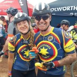 Father-daughter pair Willem and Thana Groenewald completed the eight-day Cape Epic